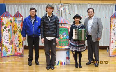 2014.12.23【社会奉仕】横浜市障害児地域訓練会ラビッツのクリスマス会へ