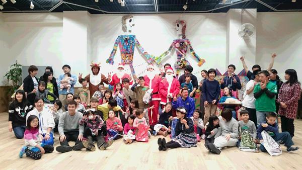 2015年12月23日【社会奉仕活動】横浜市地域訓練会ラビッツ主催「クリスマス会」に参加