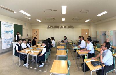 高木学園女子高等学校「インターアクトクラブ例会訪問」