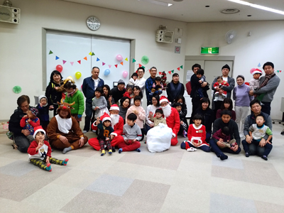 2017年12月24日れいんぼー主催 「クリスマス会」